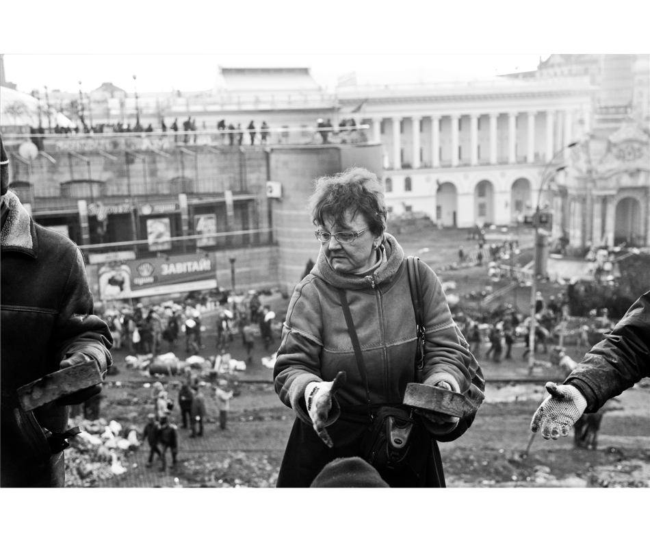 "Extrait de la série ""Maidan""/ © Pavel Volkov"