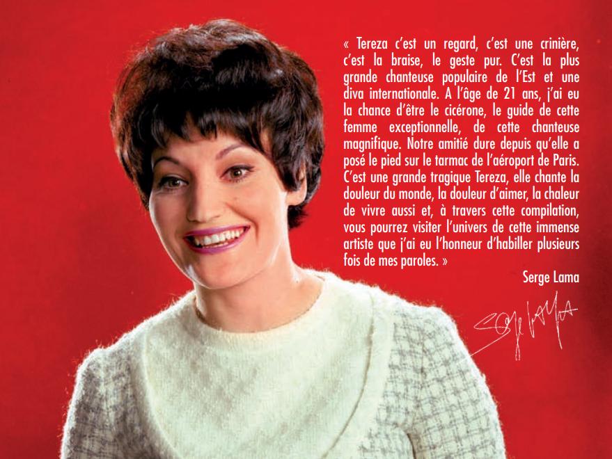 TEREZA Kesovija: Anthologie française 1965-1978