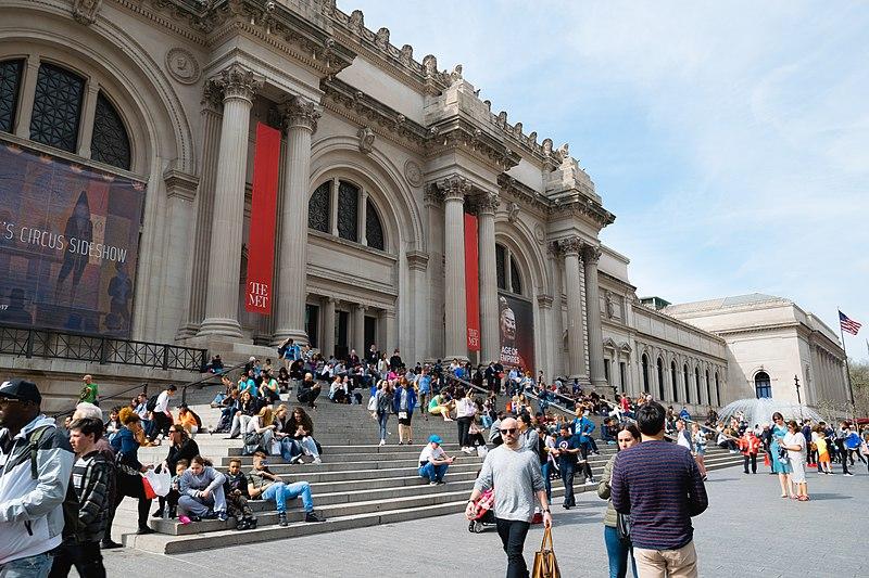 Le Metropolitan Museum of Art victime de la crise sanitaire actuelle (c) Kai Pilger
