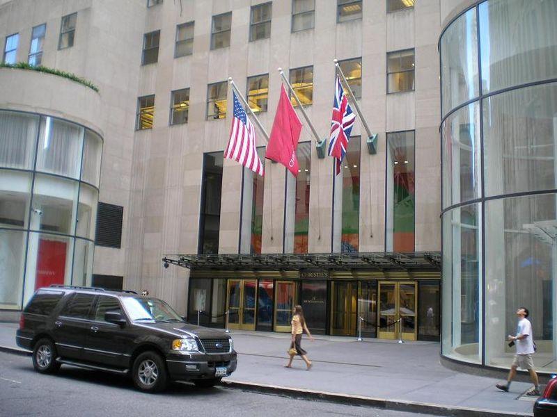"""Christie's s'est défendue en disant qu'en """"aucun cas elle ne proposerait sciemment une œuvre d'art lorsqu'il existe des doutes quant à son authenticité et sa provenance"""" (c) David Shankbone"""