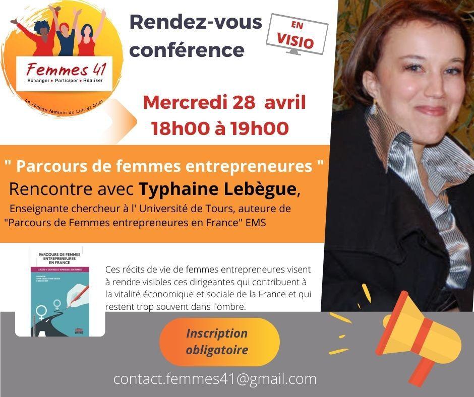 Rencontre avec Typhaine Lebègue. (c) Femme 41.