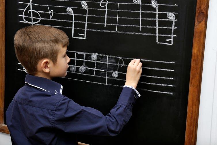 Les dispositifs défendent la transmission d'un savoir musical d'ordre théorique. Shutterstock
