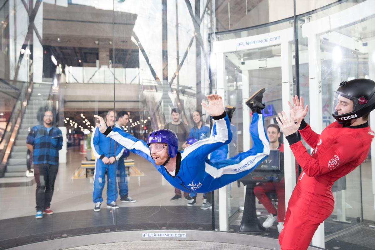 J'ai testé la chute libre en indoor !