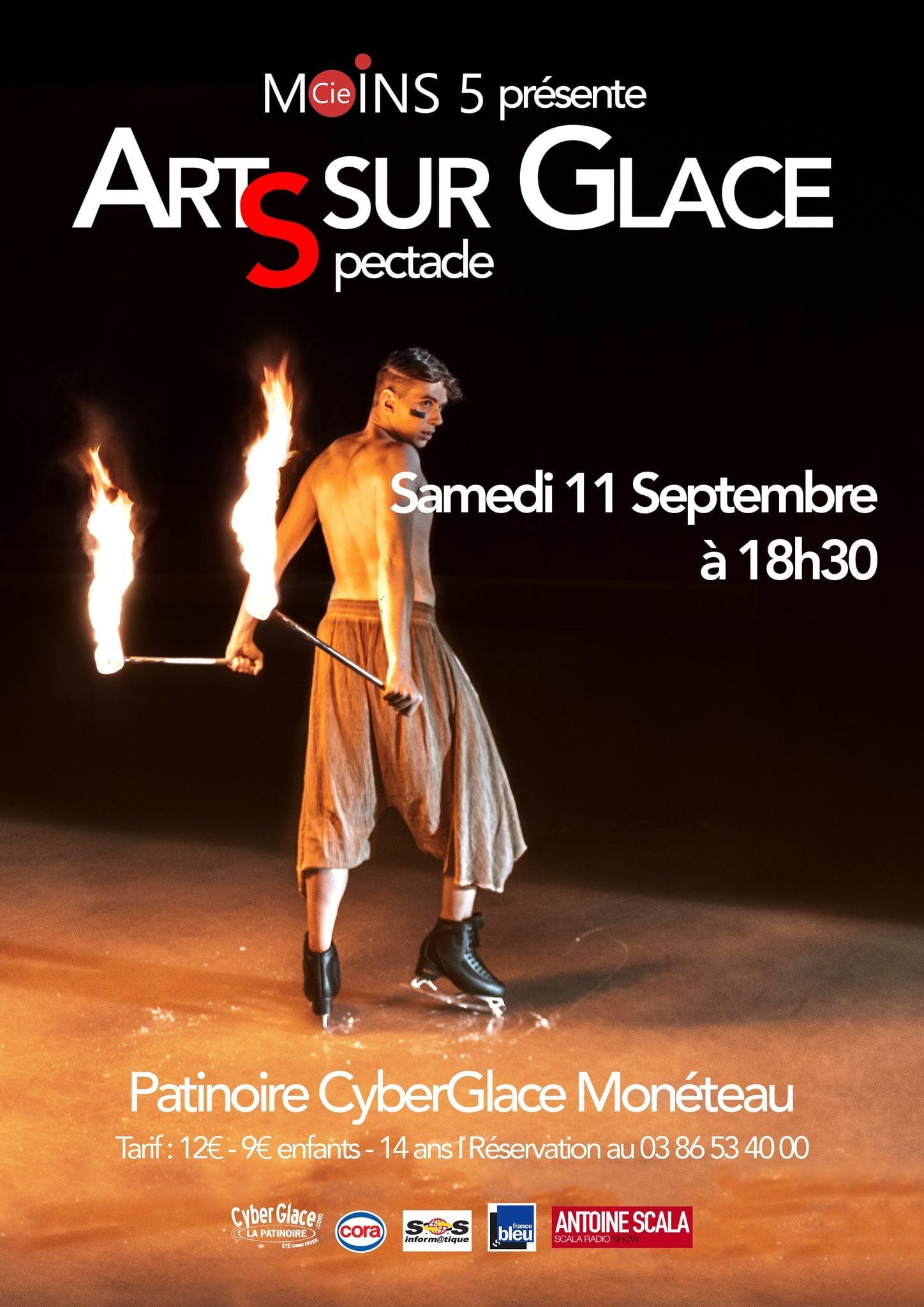 Art Sur Glace. (c) Tanguy Lepage.