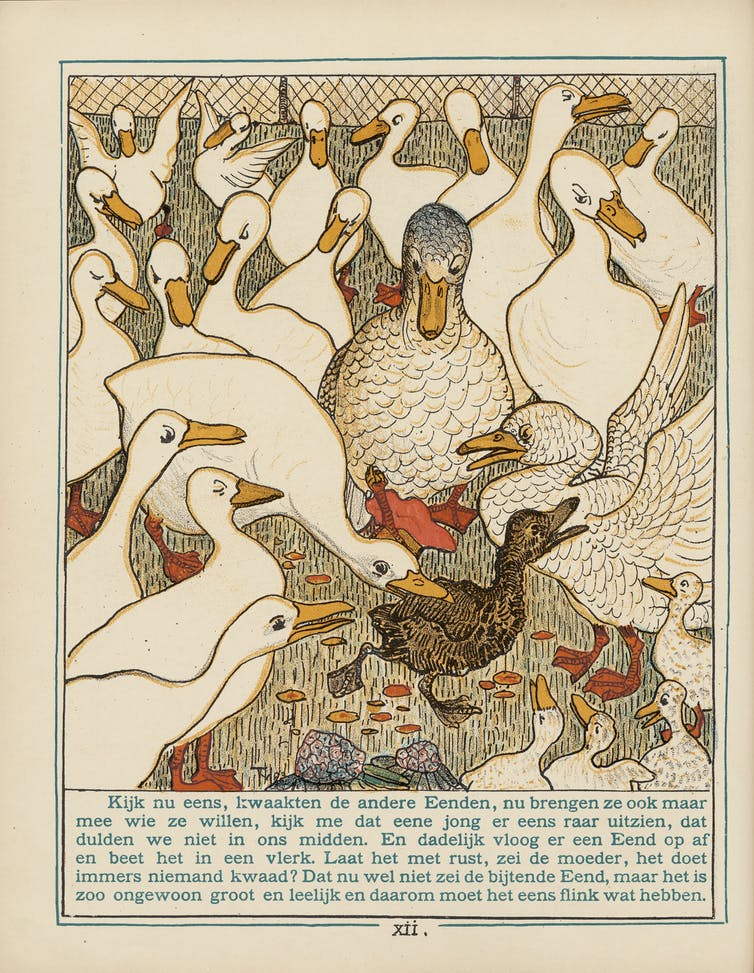Illustration de Theo van Hoytema de 1893. Amsterdam : C.M. van Gogh, pag. XII. Wikimedia
