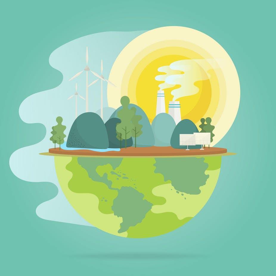 Planète en surchauffe. rawpixel.com