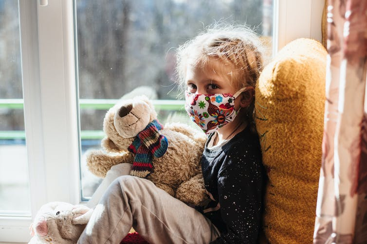 Les enfants qui contractent la Covid-19 n'ont généralement pas besoin d'être hospitalisés. Shutterstock