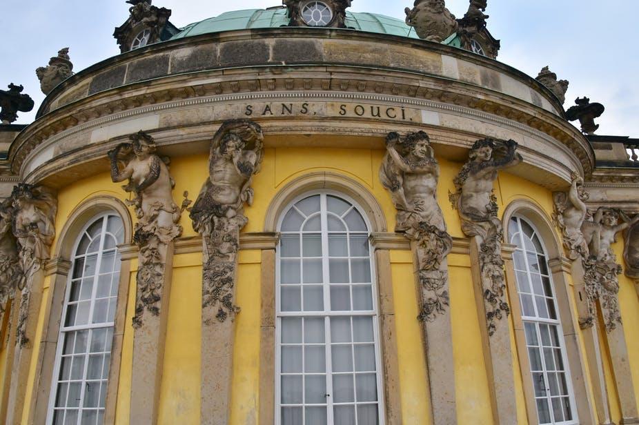 Château de Sanssouci Potsdam. Richard Mortel, Wikimedia Commons, CC BY-SA