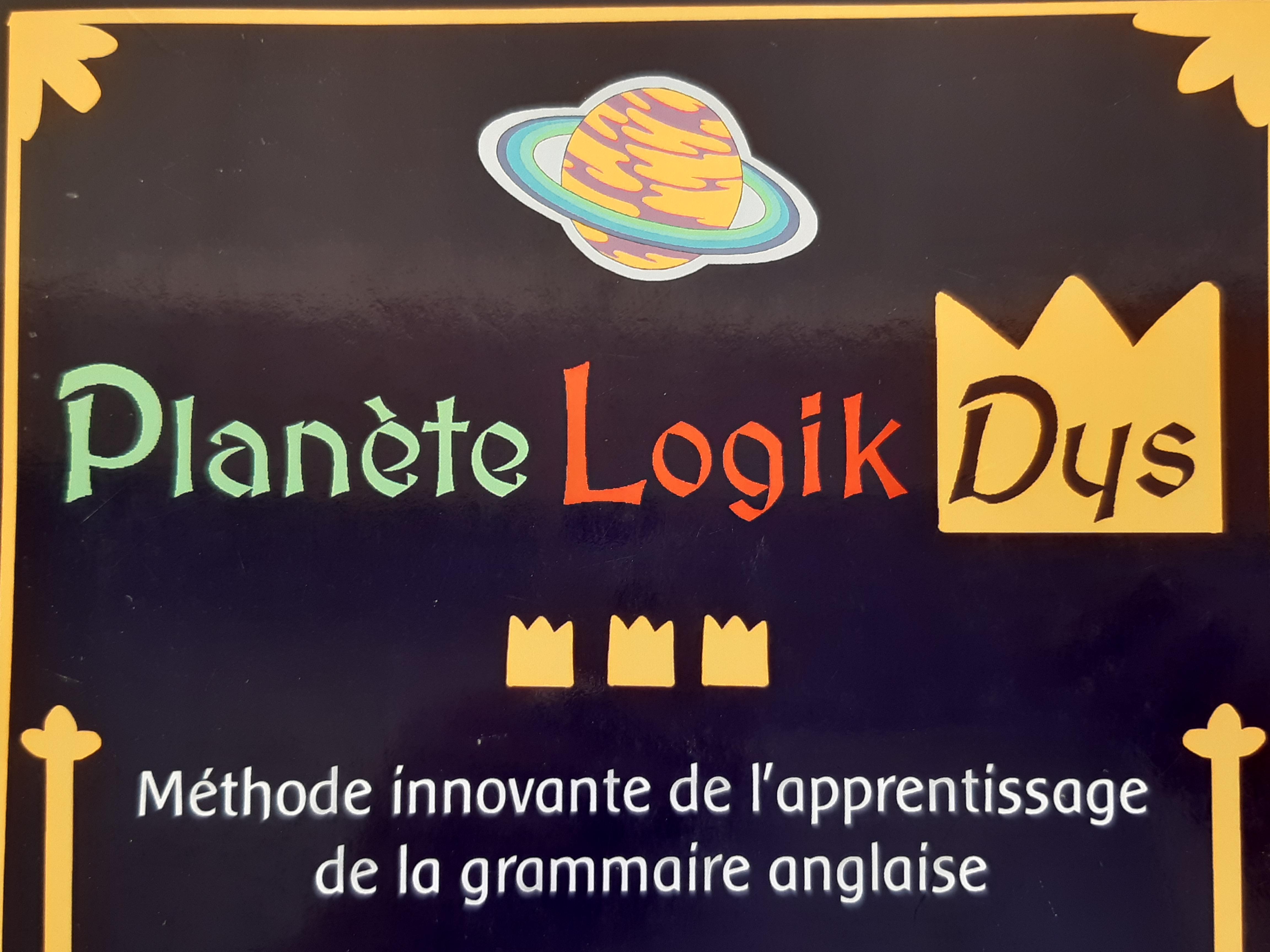 Planète Logikdys : Le monde où l'anglais devient magique pour les DYS avec Christine Ouvrard. (c) Christine Ouvrard.