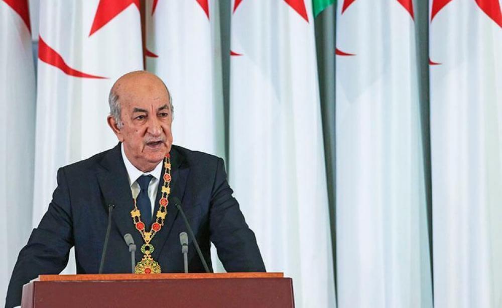 Le président Tebboune (c) DR