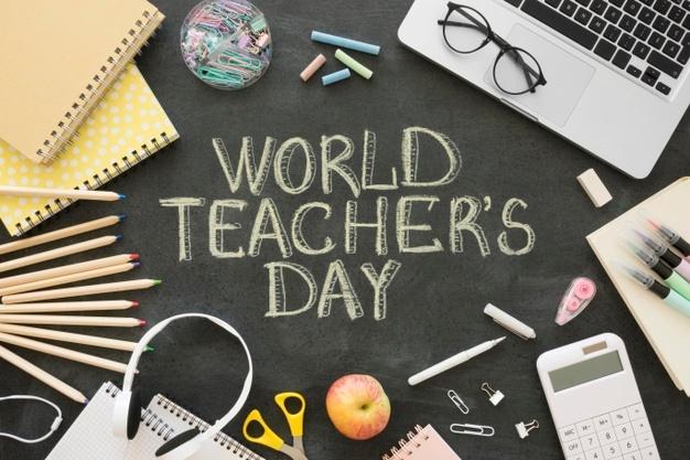 Journée mondiale des enseignants. (c) freepik.com