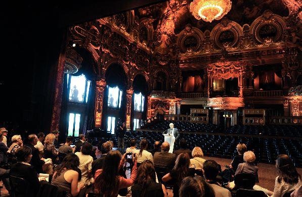 Présentation du programme du Monte-Carlo Jazz Festival à la presse. Photo (c) SBM