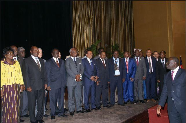 Une forte mobilisation des ministres au forum. Photo (c) AT