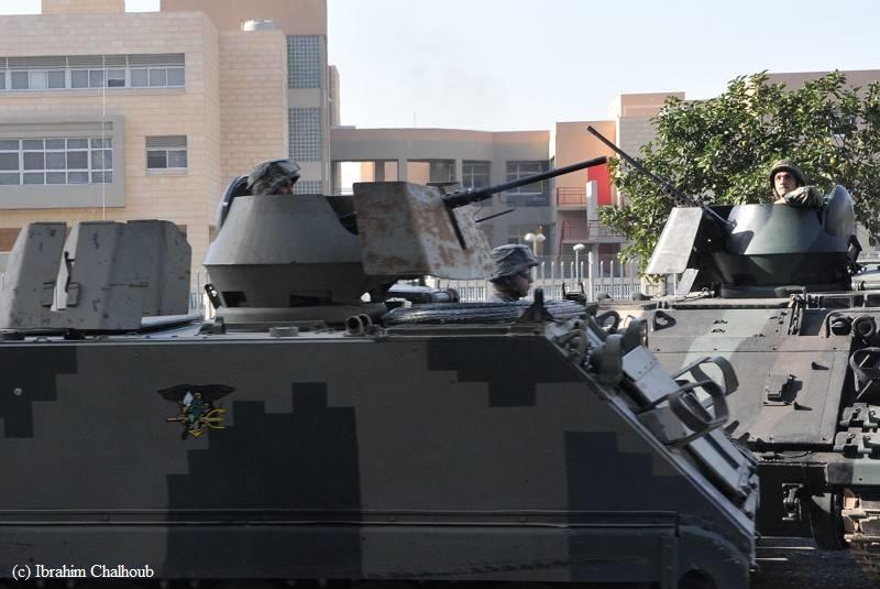 Surveillance militaire! Photo (C) Ibrahim Chalhoub
