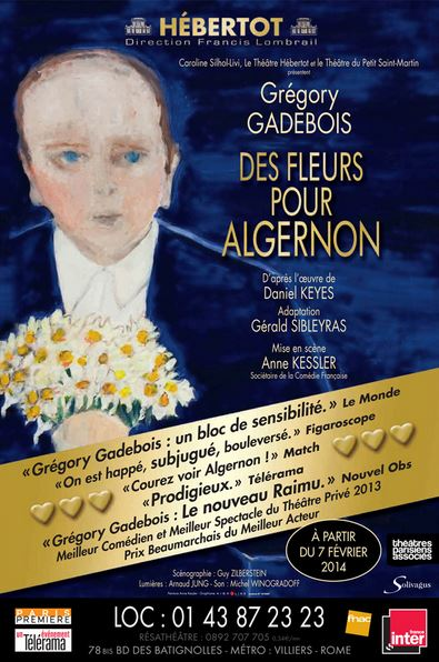 Des fleurs pour Algernon à Paris