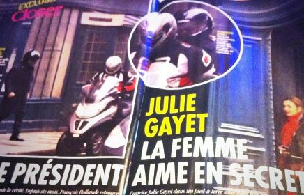 L'Elysée embarrassée par l'affaire Hollande/Gayet révélée par Closer. Photo (c) DR