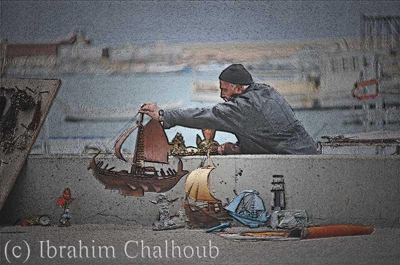 Travail à tout âge! Photo (C) Ibrahim Chalhoub