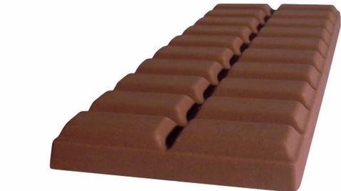 Le chocolat un produit rare en 2020. Photo libre de droits.