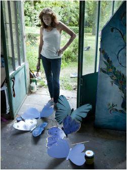 Joy de Rohan Chabot et ses papillons
