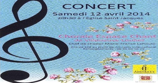Amnesty International - Concert chorale