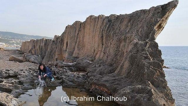 Mur maritime! Photo (C) Ibrahim Chalhoub