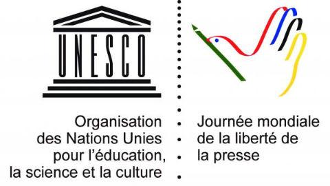 Logo de la Journée mondiale de la liberté de la presse