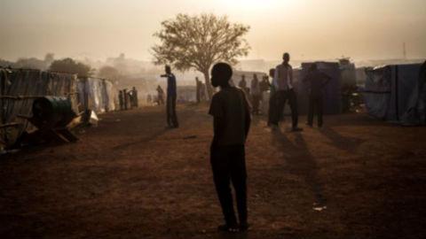 Photo prise par Camille Lepage au Soudan du Sud, lors de son reportage avec Handicap International en janvier dernier.