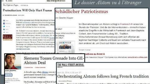 Captures d'écran d'articles web anglo-saxons et allemand