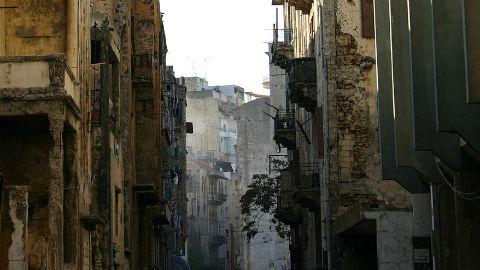 Rue à Beyrouth. Photo (c) Bertil Videt