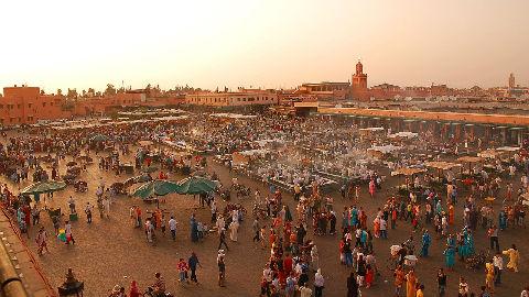 Préfecture, Marrakech. Photo (c) Luc Viatour