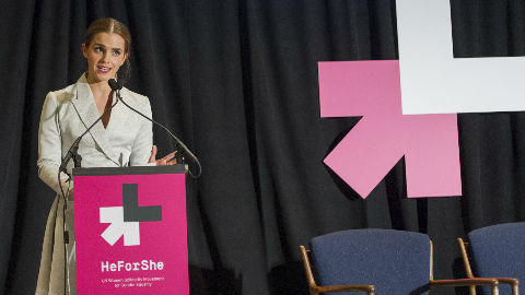 Emma Watson. Photo (c) Mark Garten / UN