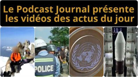 Les actualités en 4 vidéos du 26 septembre 2014