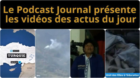 Les actualités en 4 vidéos du 13 octobre 2014