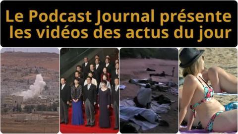 Les actualités en 4 vidéos du 20 octobre 2014