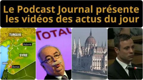 Les actualités en 4 vidéos du 21 octobre 2014