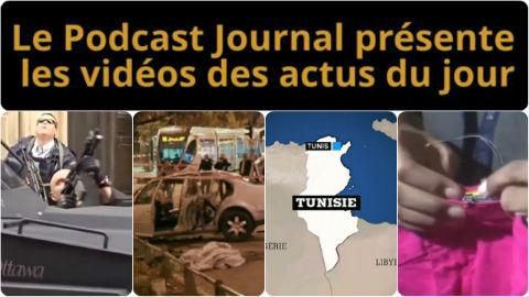 Les actualités en 4 vidéos du 23 octobre 2014