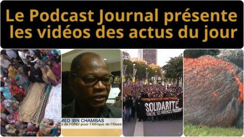 Les actualités en 4 vidéos du 3 novembre 2014