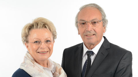Maurice et Edith Labaisse. Photo courtoisie (c) DR. Cliquez ici pour accéder au site