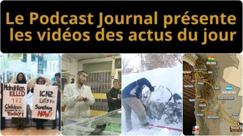 Les actualités en 4 vidéos du 20 novembre 2014