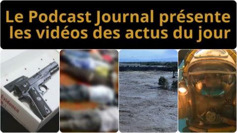 Les actualités en 4 vidéos du 24 novembre 2014
