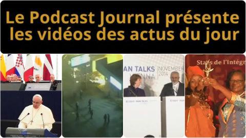 Les actualités en 4 vidéos du 25 novembre 2014