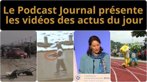 Les actualités en 4 vidéos du 27 novembre 2014