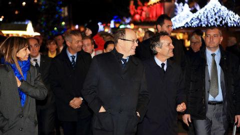 Inauguration du Village de Noël. Photo courtoisie (c) DR