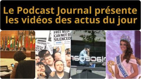 Les actualités en 4 vidéos du 15 décembre 2014