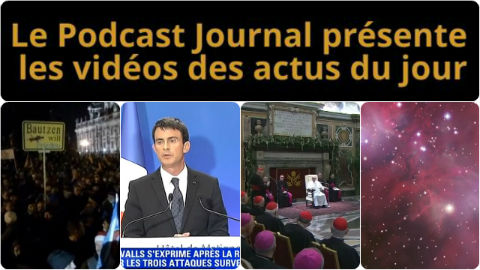 Les actualités en 4 vidéos du 23 décembre 2014
