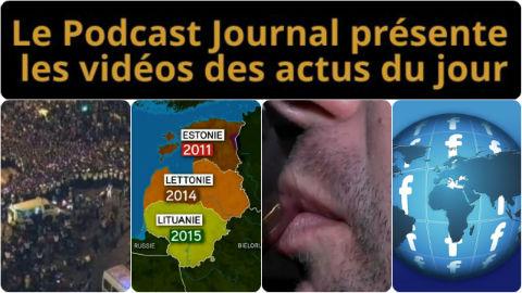Les actualités en 4 vidéos du 1er janvier 2015