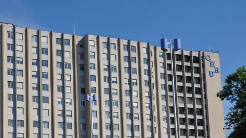 Le Centre Hospitalier Universitaire de Nancy-Vandoeuvre. Photo (c) Speculos