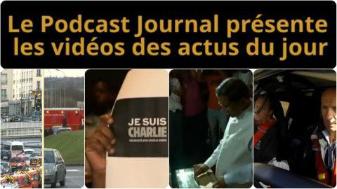 Les actualités en 4 vidéos du 9 janvier 2015