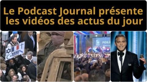 Les actualités en 4 vidéos du 12 janvier 2015