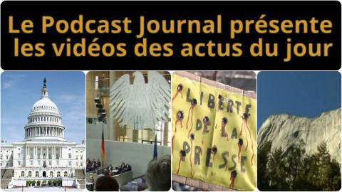 Les actualités en 4 vidéos du 15 janvier 2015